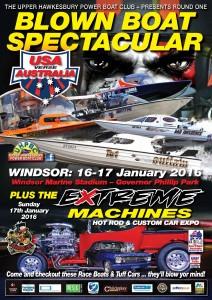 Poster for 2016 USA v Australia LR