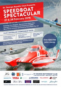 Speedboat Spectacular Poster 2016