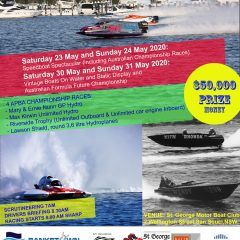 Centenary Speedboat Spectacular E.O.I. now open